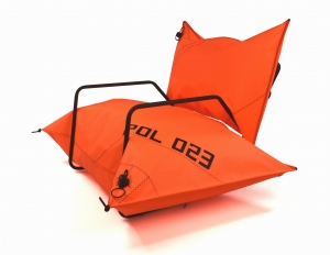 YACHT armchair Orange
