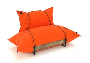 YACHT SOFA  ORANGE