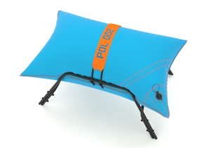 Yacht stool BLUE